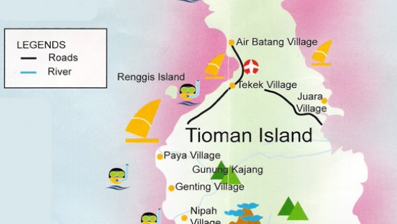 Malaysia Travel Maps | EndemicGuides